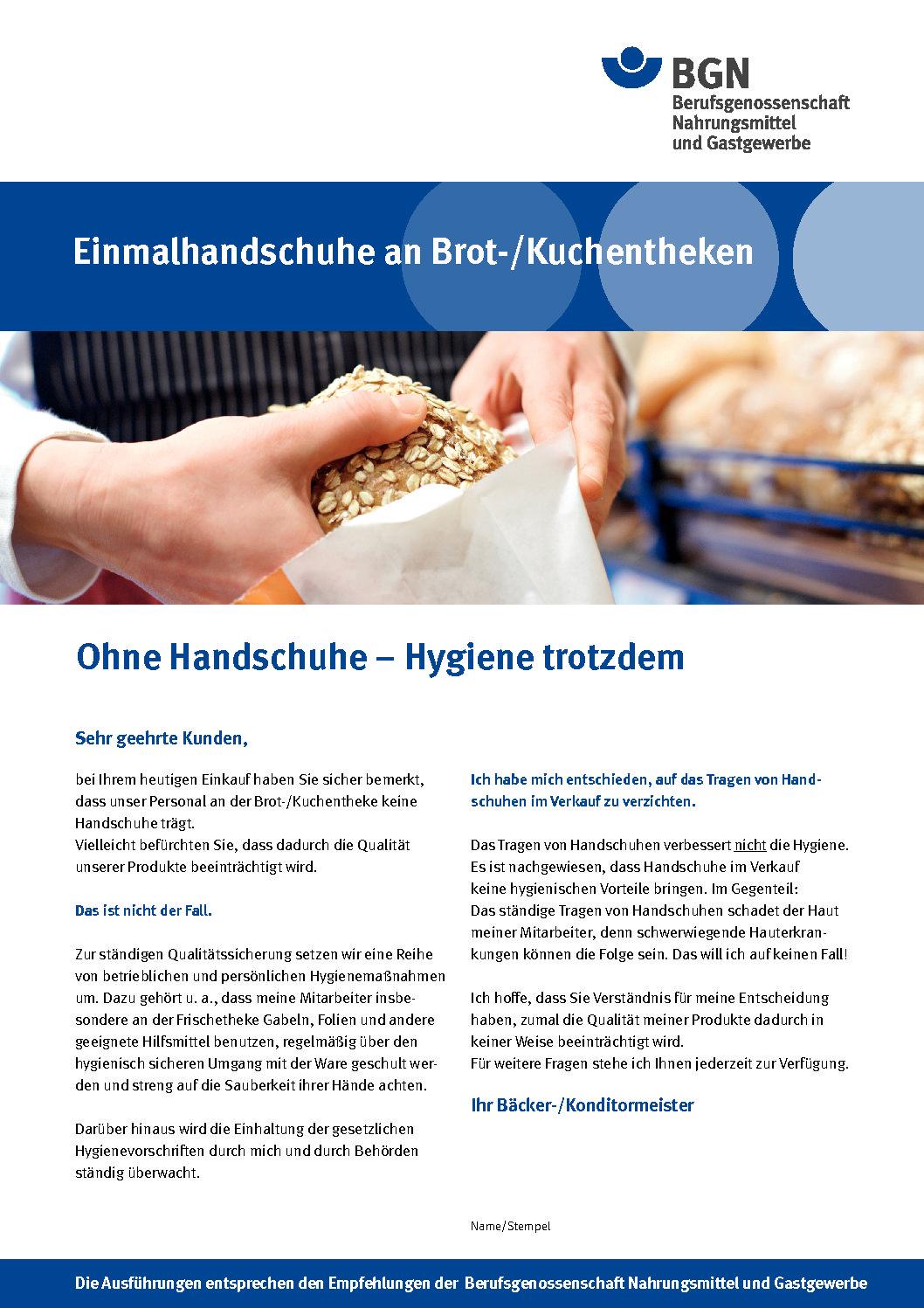 Bäckerei Hygiene