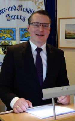 Landesinnungsmeister Matthias Grenzer