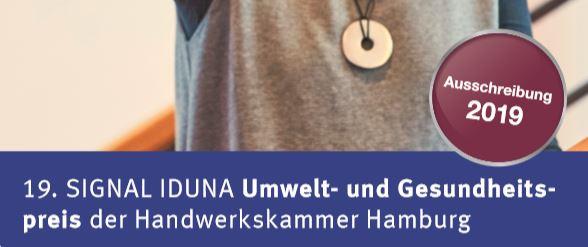 Signal-Iduna Umwelt- und Gesundheitspreis 2019