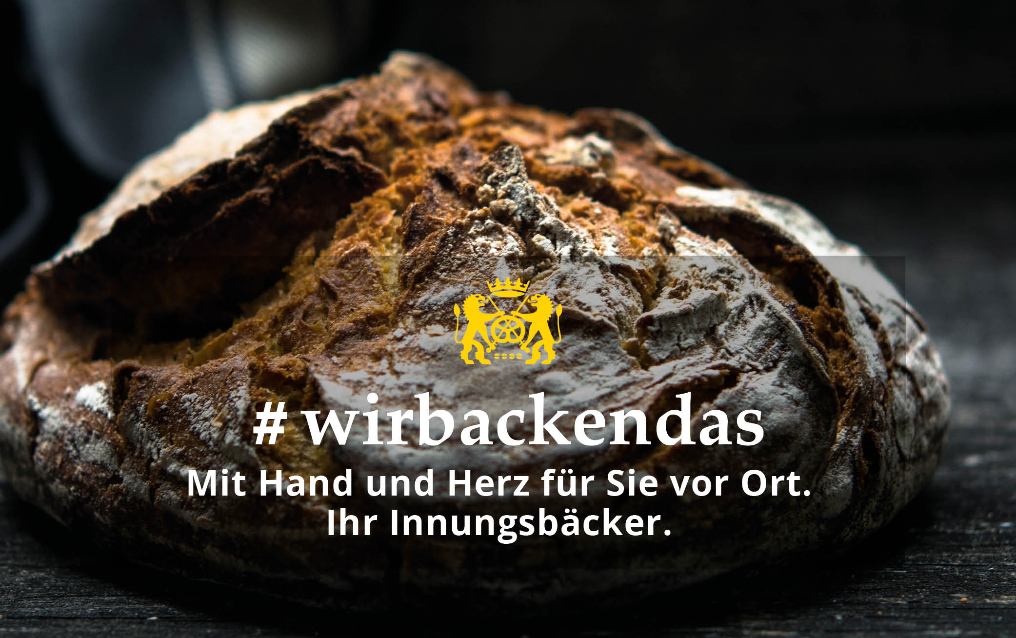 Bäckerhandwerk in Schleswig-Holstein mit dem Rücken zur Wand