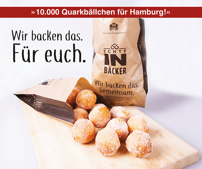 Wir backen das – 10.000 Quarkbällchen für Hamburg