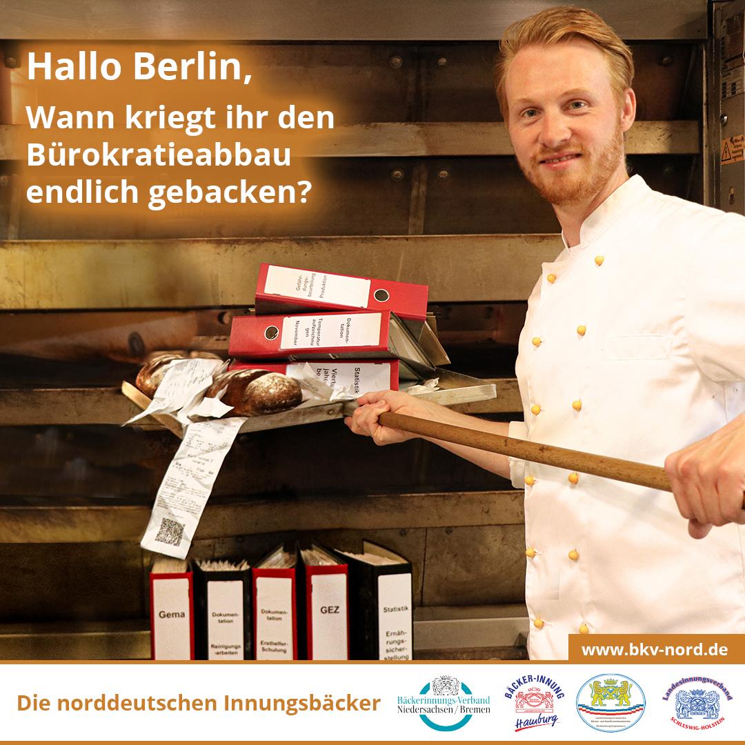 Bäcker in Norddeutschland: Wir wollen backen statt Akten