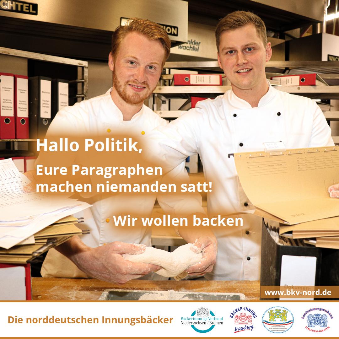 Bürokratie nein danke! Bäcker fordern Abschaffung der Bonpflicht.